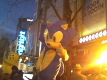 Sonic dans Broad street