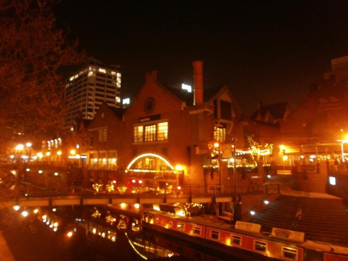 Le canal de nuit