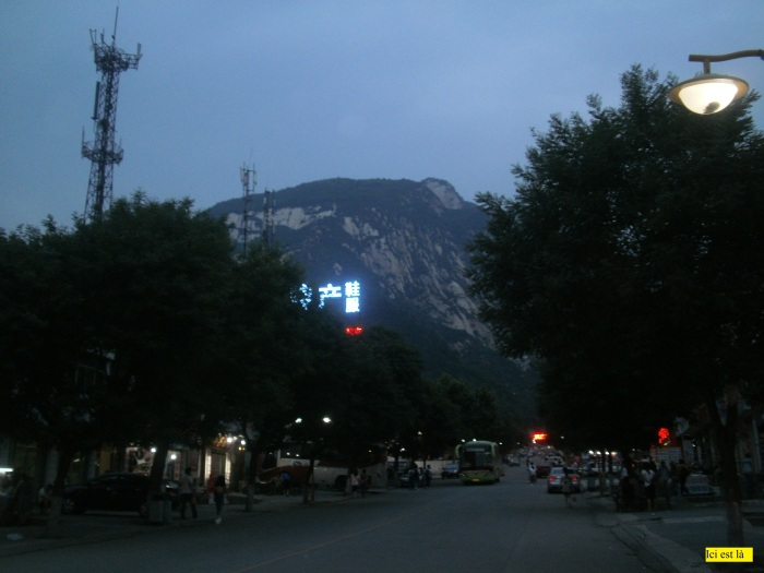 Arrivée au petit village de Huashan